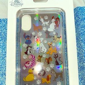 Disney Dogs & Cats Apple Iphone 10 X/XS Case